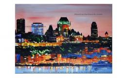Oil painting Quebec