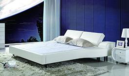 WHITE BED 382